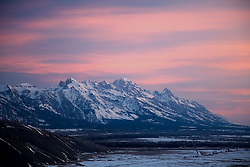Sunrise, Grand Tetons, Jackson Hole, Wyoming