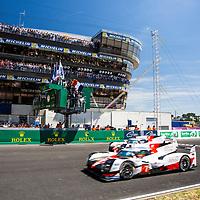 during the 24 Hours of Le Mans 2017 race at Le Mans, Le Mans, France on 17/18 June 2017. Photo by Jarrod Moore. 24 Hours of Le Mans 2017