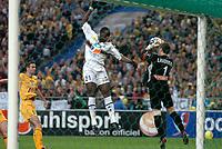 Fotball<br /> Fransk ligacupfinale<br /> Nantes v Sochaux<br /> 17. april 2004<br /> Foto: Digitalsport<br /> NORWAY ONLY<br /> <br /> SOULEYMANE DIAWARA (SOC) / MICKAEL LANDREAU (NAN)