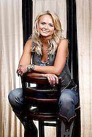 ** HOLD FOR STORY ** Miranda Lambert poses for a portrait on Monday, Feb. 24, 2014 in Nashville, Tenn. (Photo by Donn Jones/Invision/AP)