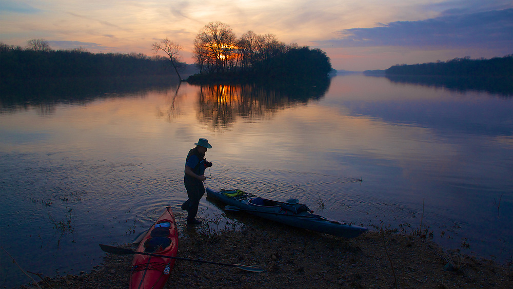 Early Spring on the Potomac River