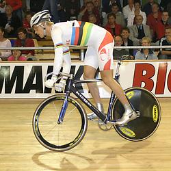 Theo Bos wereldkampioen sprint 2004