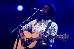 © Licensed to London News Pictures. 17/07/2013. London, UK.   Denai Moore performing live at Somerset House, supporting headliner Tom Odell.   Photo credit : Richard Isaac/LNP