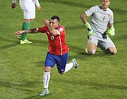 Copa America Chile 2015. Santiago. Estadio Nacional. 19 de Junio de 2015. Chile vs Bolivia