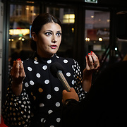London, England, UK. 21th September 2017. Sybilla Deen attend Lies We Tell Film Premiere at Vue Leicester Square