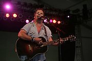 June 18, 2006; Manchester, TN.  2006 Bonnaroo Music Festival. Steve Earle performs live at Bonnaroo 2006.  Photo by Bryan Rinnert