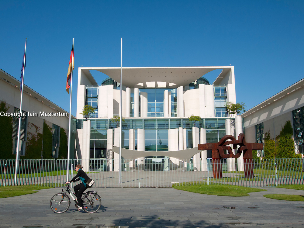 The Chancellery building the building housing the Chancellor in Berlin Germany