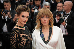 Alessandra Ambrosio and Petra Nemcova attending the premiere of the film Blackkklansman during the 71st Cannes Film Festival in Cannes, France on May 14, 2018. Photo by Julien Zannoni/APS-Medias/ABACAPRESS.COM
