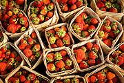Strawberries in Mandalay market