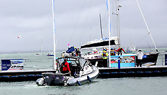 Cowes Sailor Overboard