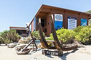 Pilgrim Boat Parts Displayed at Ocean Institute in Dana Point Harbor