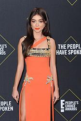 Sarah Hyland at the 2019 E! People's Choice Awards held at the Barker Hangar in Santa Monica, USA on November 10, 2019.
