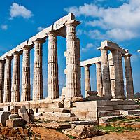 Attica Coast Greece Travel Stock Photos