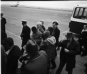 Pelé photographed arriving at the Dublin airport<br /> May 1979
