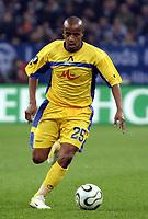 Fotball<br /> Foto: imago/Digitalsport<br /> NORWAY ONLY<br /> <br /> 06.04.2006  <br /> <br /> Lusio Vagner (Levski Sofia) am Ball<br /> <br /> FC Schalke 04 - PFK Levski Sofia 1:1<br /> UEFA Cup 2005/2006
