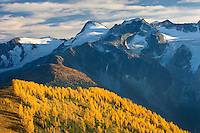 View of the Truce Group from Monica Meadows, Purcell Mountains British Columbia Canada