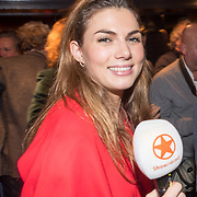 NLD/Amsterdam/20171016 - Boekpresentatie PicStory van William Rutten, SBS presentatrice Lisa Michels