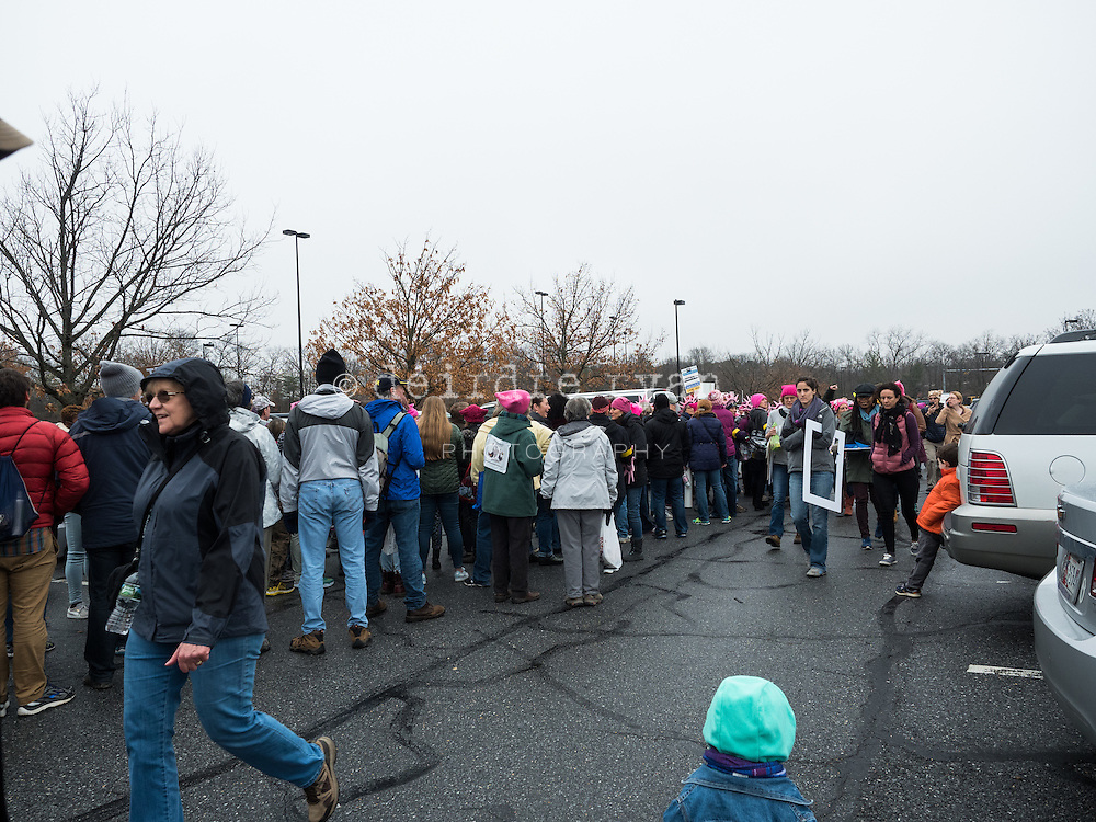 """I was asked to photograph for UniteWomen.org during the Women's March on January 20th, 2017 in Washington D.C. <br /> <br /> Myself and several other women, men and 2 small children, drove down from Hamilton, NJ by bus starting at 5:15 AM, but I carpooled with friends to the bus at 4:15AM, so I was up by 3AM. <br /> <br /> We ended up having to park in Maryland, and take a Metro subway into the Washington, D.C. from there. It took over an hour. The line was incredibly long, but I used my Press Pass, politely cut in line,  and got on the very next train.<br /> <br /> I had my Think Tank photo backpack with my Olympus mirrorless camera, three lenses, a flash, a Camelback water bottle, various other essential stuff like reusable batteries, etc., but the main heavy item was my 15"""" MacBook Pro. All in all it weighed about 25 lbs which I ended up carrying on my back and shoulders all day long. Yes, it hurt...no I didn't complain really. But I'll get to that later. <br /> <br /> I met the most incredible people, we helped each other out, shared stories, laughed, and spoke out about an uncertain and scary future with Donald Trump in the White House.<br /> <br /> To hear more about what happened go to my blog to see photos of me, how I got there, and how I got home. <br /> https://www.deirdreryanphotography.com/the-womens-march-washington-d-c-part-1/<br /> https://www.deirdreryanphotography.com/the-womens-march-in-washington-d-c-part-2/<br /> https://www.deirdreryanphotography.com/the-womens-march-in-washington-d-c-part-3/<br /> https://www.deirdreryanphotography.com/the-womens-march-in-washington-d-c-part-4/"""