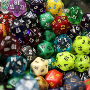 Di used to play Dungeons and Dragons are pictured at Cape Fear Games in Wilmington, N.C. (Jason A. Frizzelle)