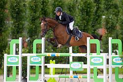 Anthonissen Bart, (BEL), Saphita vh Koningshof Z<br /> Nationale finale SBB competitie voor jonge paarden <br /> 6 jarige springpaarden - Moorsele 2016<br /> © Hippo Foto - Dirk Caremans<br /> 26/06/16