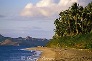 Pinney's Beach, Nevis Island, St. Kitts & Nevis ( Saint Christopher and Nevis ) Lesser Antilles ( Eastern Caribbean Sea )
