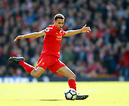Trent Alexander-Arnold of Liverpool in action during the English Premier League match at Anfield Stadium, Liverpool. Picture date: April 1st 2017. Pic credit should read: Simon Bellis/Sportimage