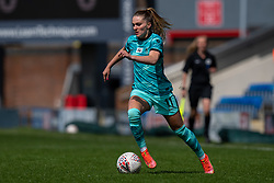 CHESTERFIELD, ENGLAND - Sunday, April 25, 2021: Liverpool's Melissa Lawley during the FA Women's Championship game between Sheffield United FC Women and Liverpool FC Women at the Technique Stadium. Liverpool won 1-0. (Pic by David Rawcliffe/Propaganda)