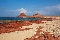 Yemen, ile de Socotra, plage de Dihamri. // Yemen, Socotra island, Dihamri beach.