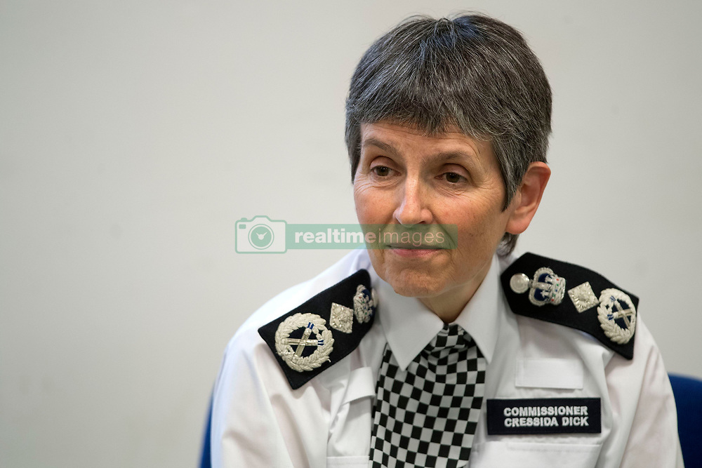 """File photo dated 18/05/17 of Metropolitan Police Commissioner Cressida Dick, who has said that British counter-terror agencies have been """"stretched"""" by a recent spate of atrocities, potentially compromising efforts to quash future threats."""