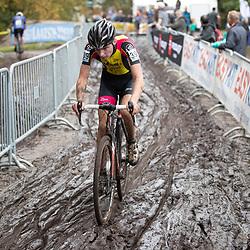 13-10-2019: Cycling: Superprestige Cyclocross: Gieten<br />Niels Bakker