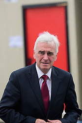 © Licensed to London News Pictures. 26/09/2016. Liverpool, UK. Shadow Chancellor JOHN MCDONNELL seen on the morning of day two of the Labour Party Annual Conference, held at the ACC in Liverpool, merseyside, UK. Photo credit: Ben Cawthra/LNP