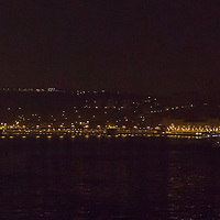 Photo during the Earth Hour in Budapest, Hungary on March 23, 2013. ATTILA VOLGYI