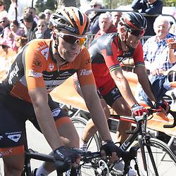 20-04-2016: Wielrennen: Waalse Pijl: Hoei<br /> HUY (BEL) wielrennen<br /> Maurits Lammertink kon niet met de beste mee in de finale
