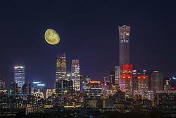 September 30, 2018 - Beijin, Beijin, China - Beijing, CHINA-Spectacular lighting show is held in Beijing, China, September 29th, 2018. (Credit Image: © SIPA Asia via ZUMA Wire)