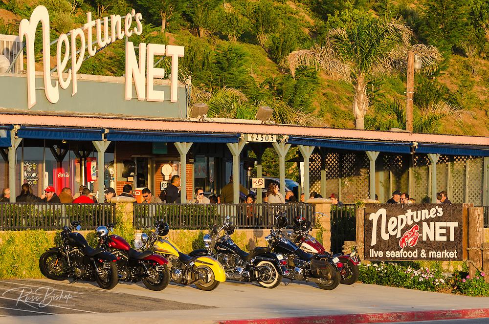 Neptune's Net seafood Restaurant, Malibu, California USA