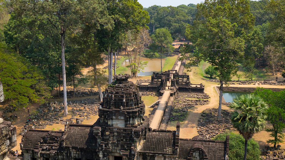 The magnificent Baphuon Temple situated within the last capital city of the Khmer Empire - Angkor Thom