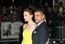 © Licensed to London News Pictures. 15/10/2013, UK. Carey Mulligan; Oscar Isaac, The BFI London Film Festival: Inside Llewyn Davis, Odeon Leicester Square, London UK, 15 October 2013. Photo credit : Richard Goldschmidt/Piqtured/LNP