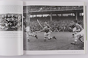 Cork corner forward Joe Kelly in action against Dublin in the 1944 All-Ireland final.