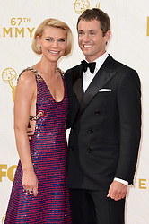 Claire Danes and Hugh Dancy attend the 67th Emmy Awards at the Microsoft Theatre on September 20th, 2015 in Los Angeles, CA, USA. Photo by Lionel Hahn/ABACAPRESS.COM  | 516539_021 Los Angeles Etats-Unis United States