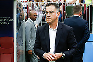 Mexico coach Osorio Juan Carlos before the 2018 FIFA World Cup Russia, Group F football match between Germany and Mexico on June 17, 2018 at Luzhniki Stadium in Moscow, Russia - Photo Thiago Bernardes / FramePhoto / ProSportsImages / DPPI