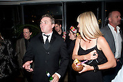 ALEX FERNS AND HIS WIFE JENNIFER WOODBURNE, South Pacific First night party. The Barbican. London. 23 August 2011. <br /> <br />  , -DO NOT ARCHIVE-© Copyright Photograph by Dafydd Jones. 248 Clapham Rd. London SW9 0PZ. Tel 0207 820 0771. www.dafjones.com.