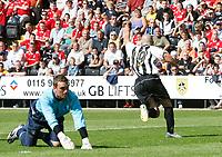 Photo: Steve Bond/Richard Lane Photography. Nottingham County v Nottigham Forest. Pre season Friendly. 25/07/2009. Luke Rodgers turns away after scoring