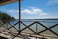 Lakes Region of New Hampshire.  Lake Winnisquam May 2011.