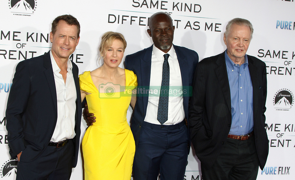 Same Kind of Different As Me Premiere at Village Theatre in Westwood, California on 10/12/17. 12 Oct 2017 Pictured: Gregg Kinnear, Renee Zellweger, Djimon Hounsou, Jon Voight. Photo credit: River / MEGA TheMegaAgency.com +1 888 505 6342