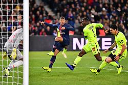 November 2, 2018 - Paris, ile de france, France - Killian Mbappe #7 during the french Ligue 1 match between Paris Saint-Germain (PSG) and Lille (LOSC) at Parc des Princes stadium on November 2, 2018 in Paris, France. (Credit Image: © Julien Mattia/NurPhoto via ZUMA Press)