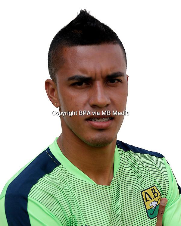 Colombia League - Liga Aguila 2015-2016 - <br /> Club Atletico Bucaramanga - Colombia / <br /> Leonardo Alexis Ossa Lopez
