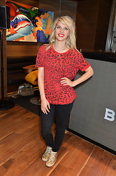 PIPS TAYLOR at a party to celebrate the 30th Anniversary of the Breitling Chronomat held at 130 Breitling, New Bond Street, London on 7th May 2014.