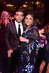 British fine jewellery brand Boodles welcomed guests for the 2013 Boodles Boxing Ball in aid of Starlight Children's Foundation held at the Grosvenor House Hotel, Park Lane, London on 21st September 2013.<br /> Picture Shows:- AMIT & VANISHA BHATIA<br /> <br /> Press release - https://www.dropbox.com/s/a3pygc5img14bxk/BBB_2013_press_release.pdf<br /> <br /> For Quotes  on the event call James Amos on 07747 615 003 or email jamesamos@boodles.com. For all other press enquiries please contact luciaroberts@boodles.com (0788 038 3003)