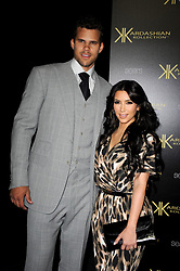 Kris Humphries and Kim Kardashian attend the Kardashian Kollection Launch Party at The Colony in Los Angeles, CA, USA on August 17, 2011. Photo by Lionel Hahn/ABACAPRESS.COM  | 286318_007 Los Angeles Unitd Etats-Unis United States