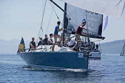 Silvers Marine Scottish Series 2017<br /> Tarbert Loch Fyne - Sailing<br /> <br /> GBR7737R, Aurora, Rod Stuart / A Ram, CCC, Corby 37